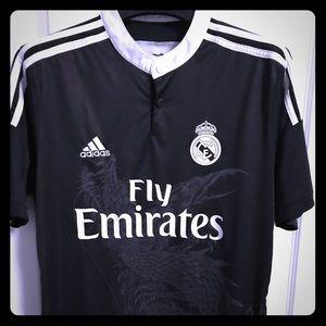 Rare Adidas Real Madrid  Black Dragons edition.